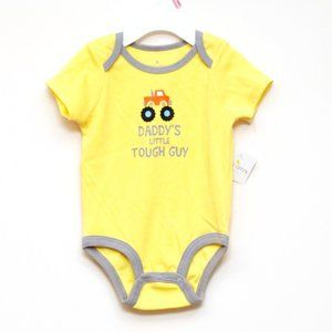 Falls Creek Baby One Piece Size 6-9 Months Yellow